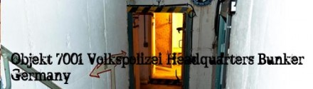 Volkspolizei HQ Bunker, Germany