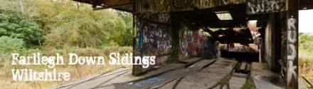 Farleigh Down Sidings, Wiltshire