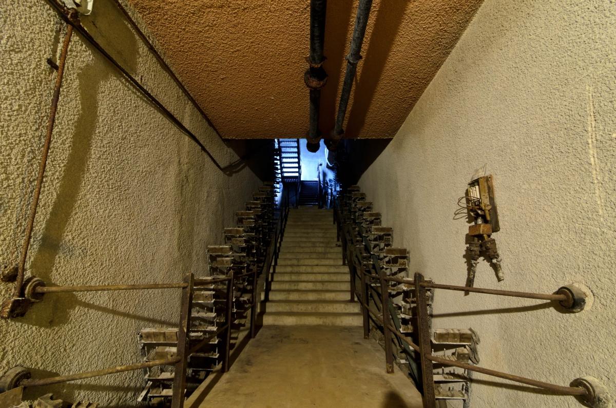 Back Stairs, RAF Wartling ('ZUN') R3 GCI ROTOR Radar Station