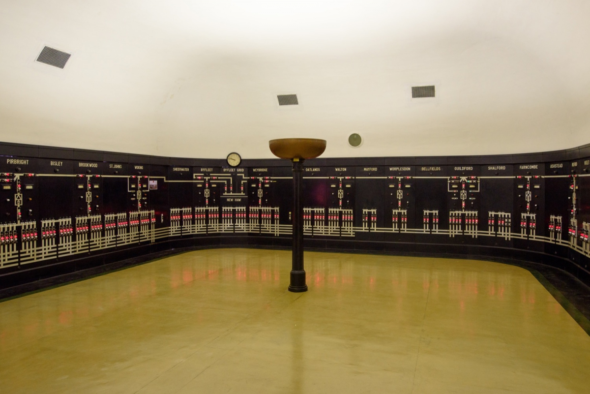 Woking Railway HV Control Room